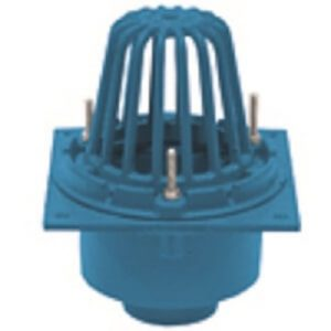 Frank Pattern Roof Drain, bottom outlet. Is used in most