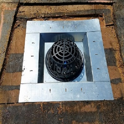 Model LSP superior grade custom roof drain pan-standard.custom roof drain pans