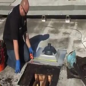roof drain installation, flat roof drain installation, roof drain installation detail, roof drain installation instructions, roof drainage, roof drainage system, standing rainwater flat roof
