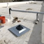 roof drain installation