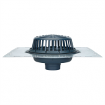 roof drain installation detail, zurn z100 roof drain installation